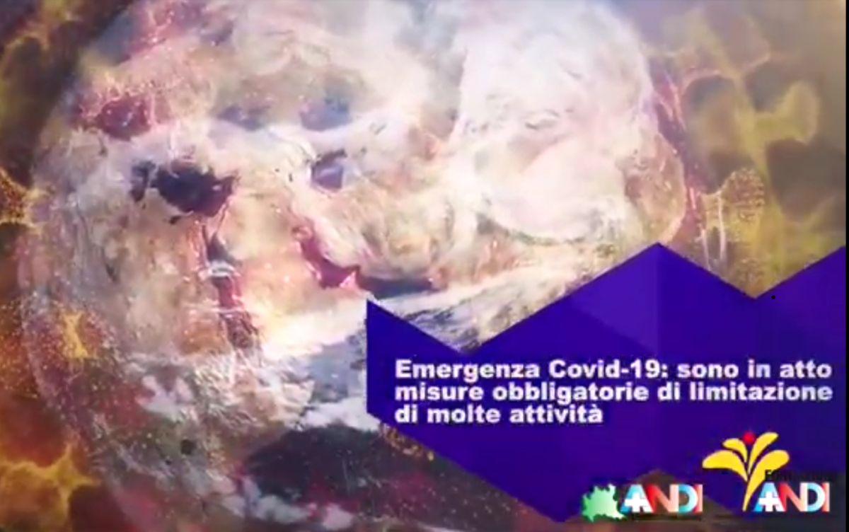 Information betrifft CoronaVirus und Zahnarzt Besuch vom Associazione Nazionale Dentisti Italiani