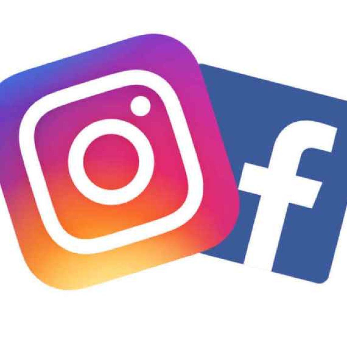 Instagram und Facebook